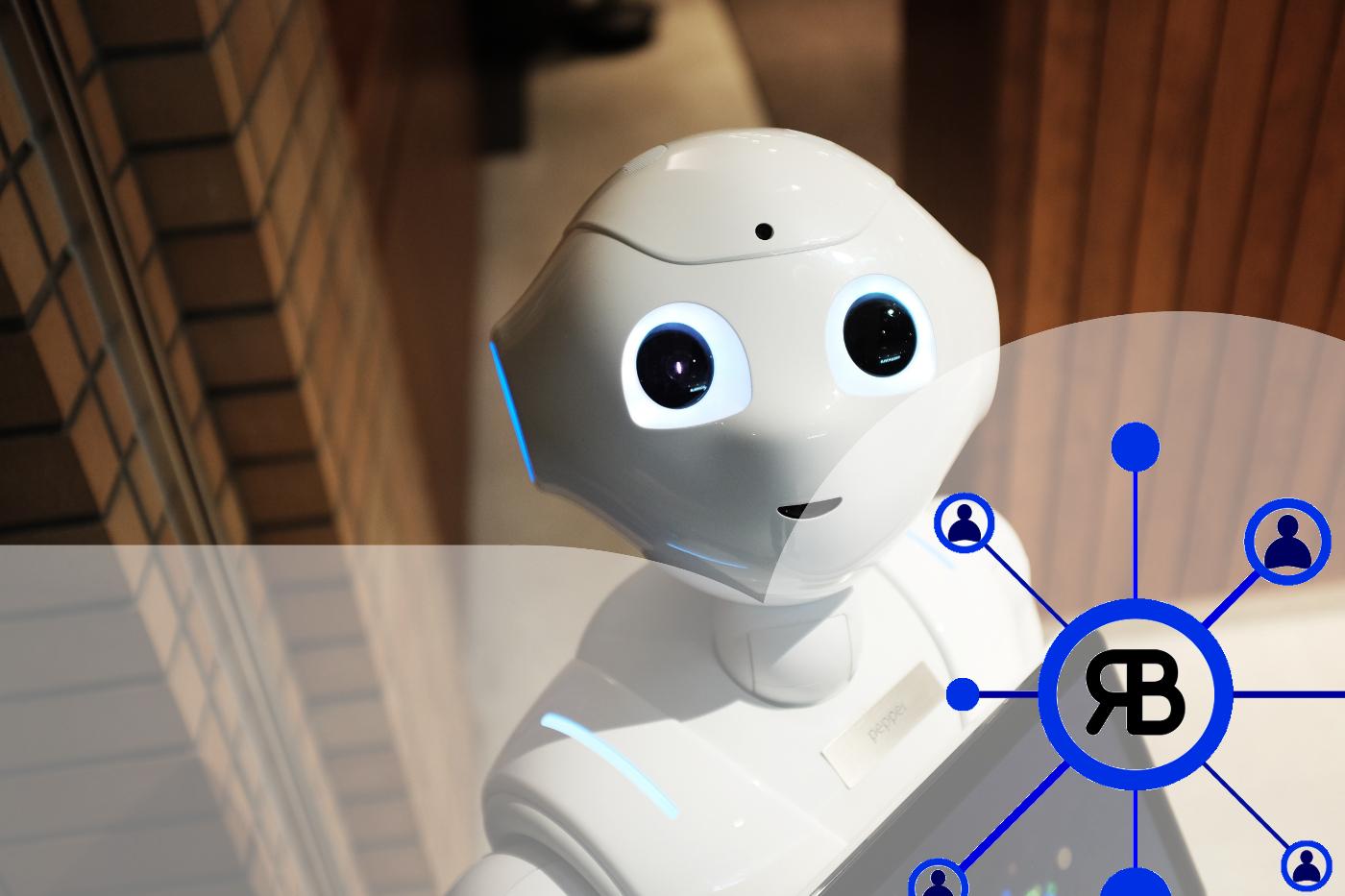 robot blanc moderne logo Richard Bulan