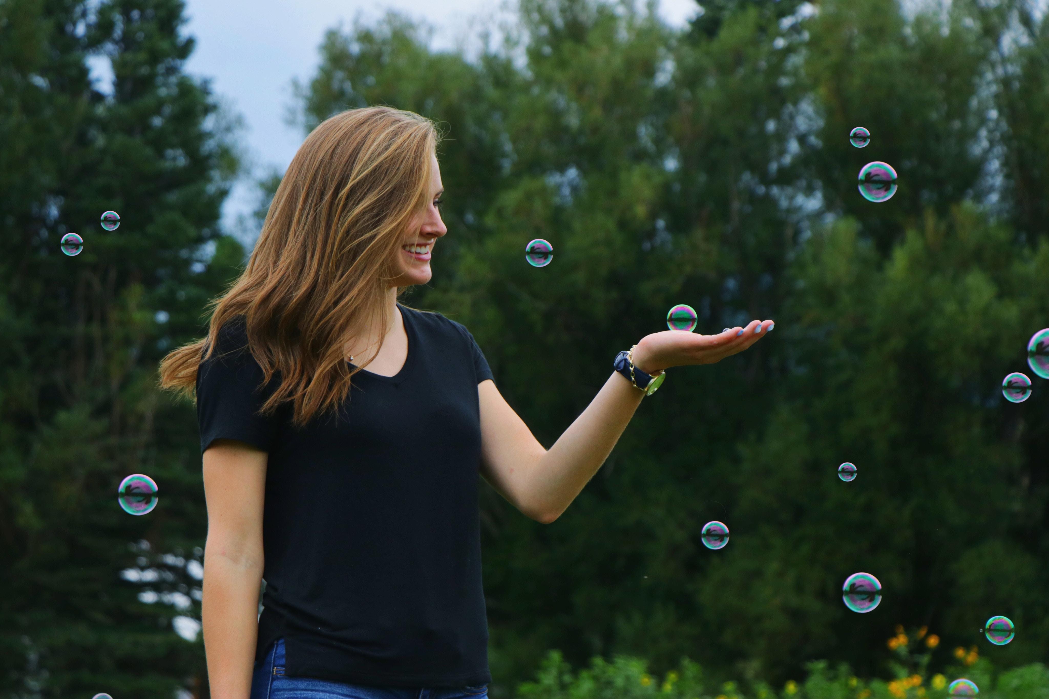 joie et bulle
