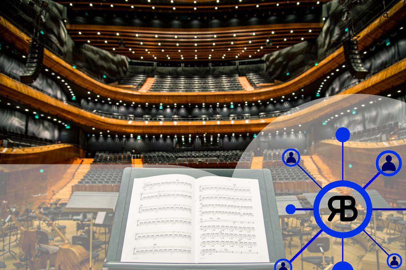 Salle de concert et d'opéra Logo Richard Bulan pour faire chanter Google Ads