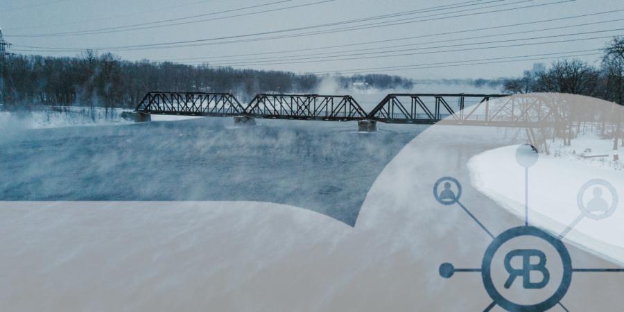 Cold banquise pont bleu logo richard Bulan