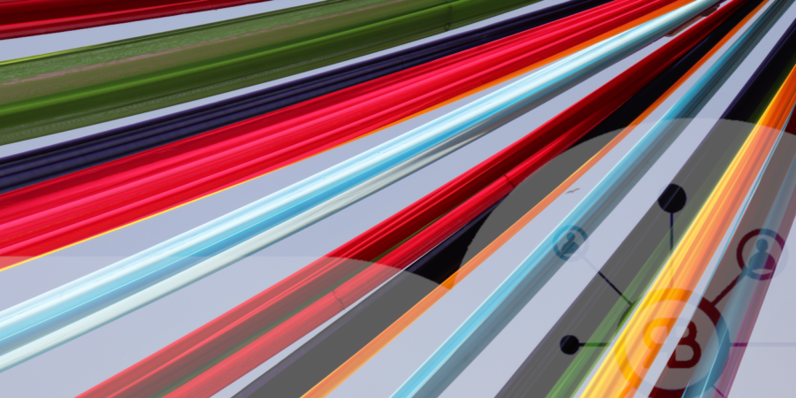 Rapport SEO avec fil multicolor